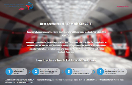 2018 Russia World Cup: a Practical Travel Guide