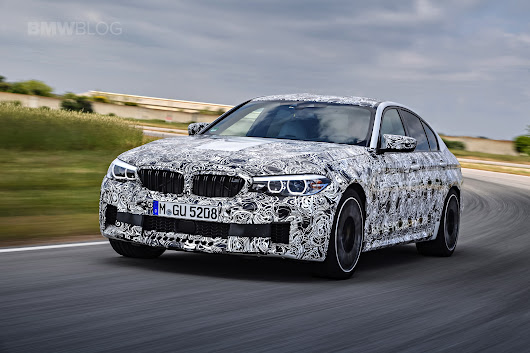 New BMW F90 M5 to be unveiled this month