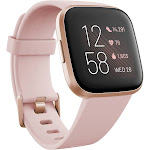 Fitbit Versa 2 - Smart Watch with Heart Rate Monitor - Petal