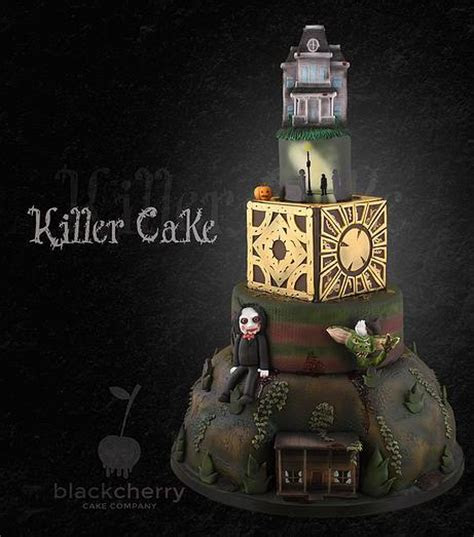 Spooky Halloween Wedding Cakes   Misfit Wedding