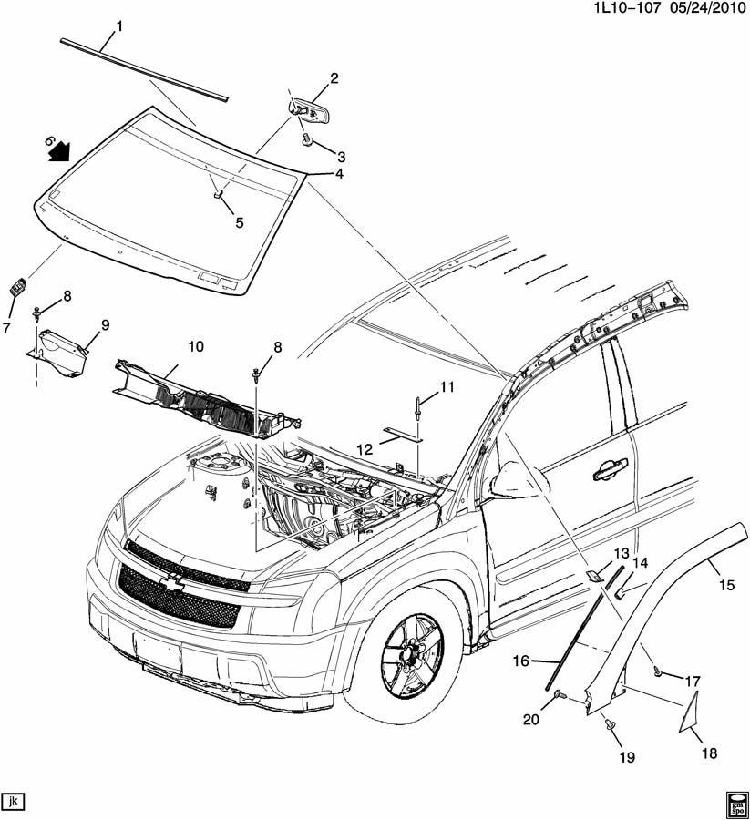 2005 chevy equinox engine diagram
