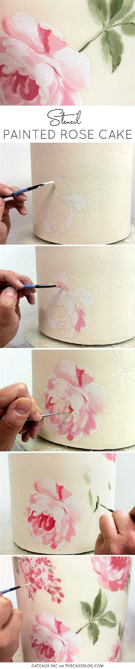 1000  ideas about Cake Stencil on Pinterest   Cookies