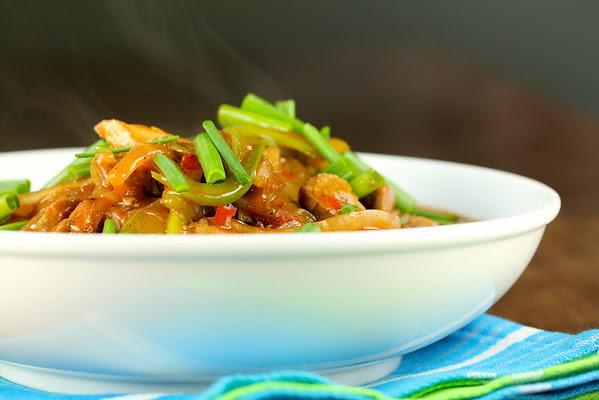 Stir-Fry Sichuan Beef from Karen's Kitchen Stories
