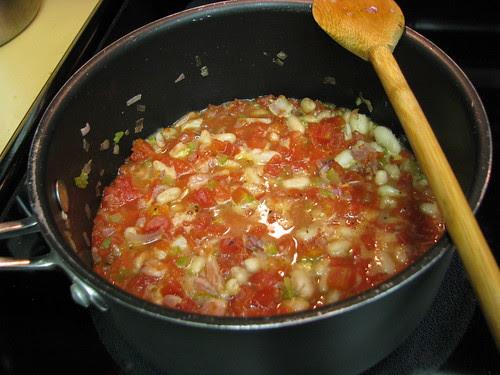 veggies cooked