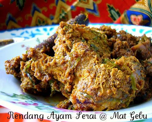 rendang ayam  serai  lebih tebal wajan  lebih kokoh  panas  merata Resepi Daging Masak Merah Dapur Tanpa Sempadan Enak dan Mudah
