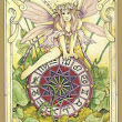 Today's Tarot Meditation Drawing: Wheel of Fortune