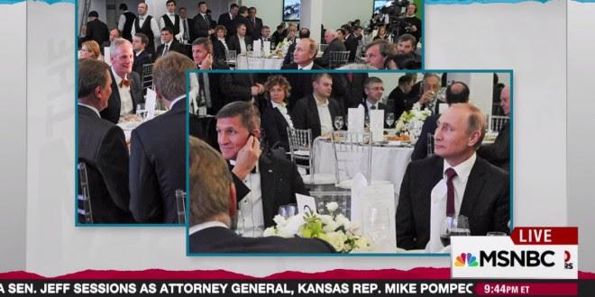Resultado de imagen de Michael Flynn y Putin