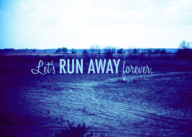 Quotes About Never Run Away 40 Quotes