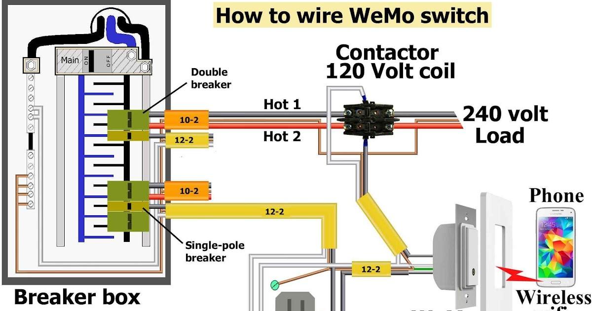 120 Volt Breaker Wiring