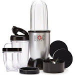as Seen on TV Mbr-1701 Magic Bullet Express 11-Piece Blender Set- Sears, Gray