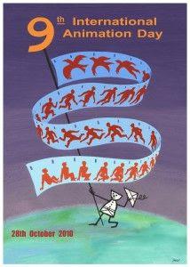 International Animation Day poster