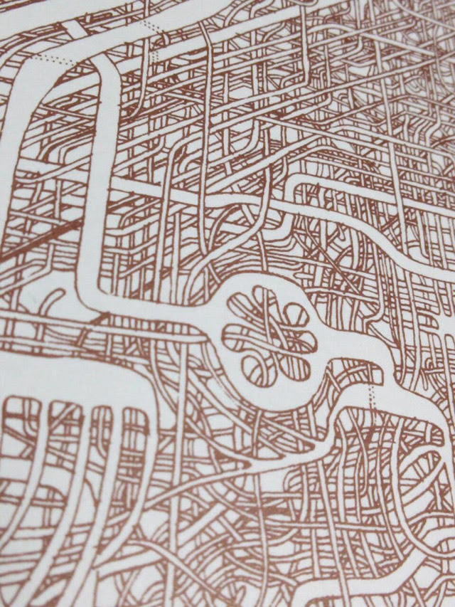Man Spends 7 Years Drawing Incredibly Intricate Maze mazes games drawing