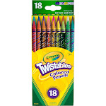 Crayola Twistables Colored Pencils - 18 count