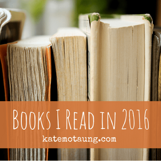 books I read in 2016 :: special edition link-up