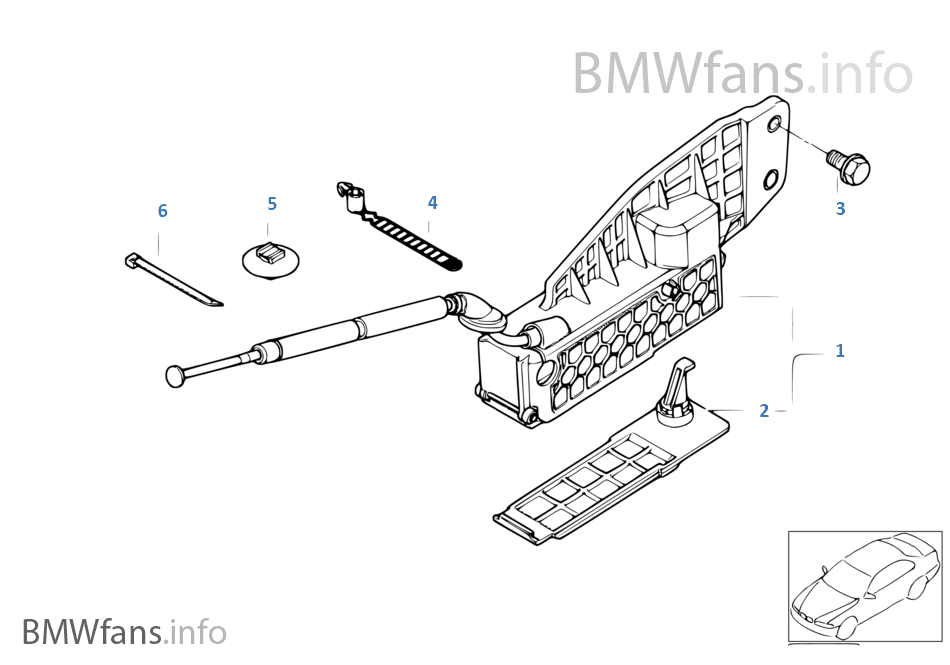 16: Bmw Emergency Transmission Release