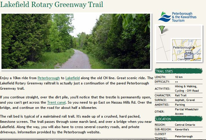 rotary greenway trail