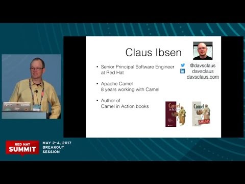 Developing cloud-ready Camel microservice talk from Red Hat Summit 2017