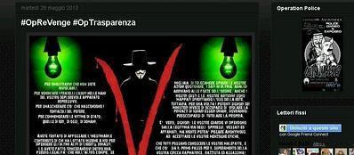 Il blog di Anonymous Italia