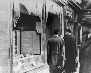 Magasin juif après la Nuit de Cristal, 9 au 10 novembre 1938