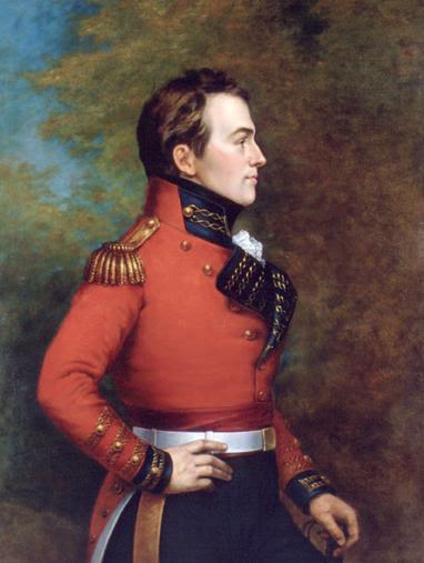 George Theodore Berthon: Maj. Gen. Sir Isaac Brock