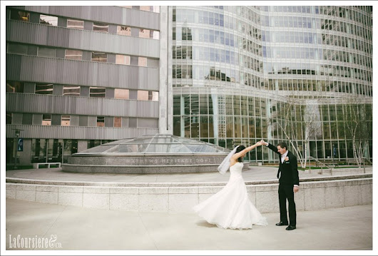 Marion + Shawn  //  DoubleTree Rochester Wedding  //  by Amy