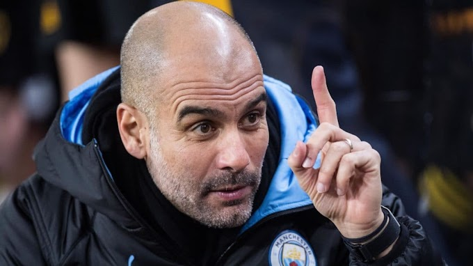 EPL: Guardiola reacts as Man City loses to Spurs, reveals biggest title contenders
