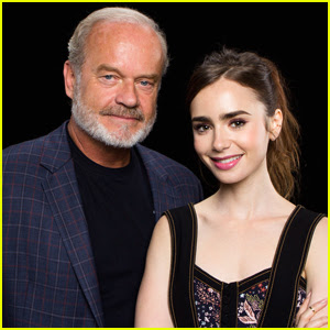 Lily Collins & Kelsey Grammer Hype Up Their Amazon Series 'The Last Tycoon'