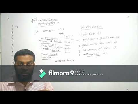 A/L ICT tamil Revision - Unit 05 (OS) Series-1: learnbyself.com
