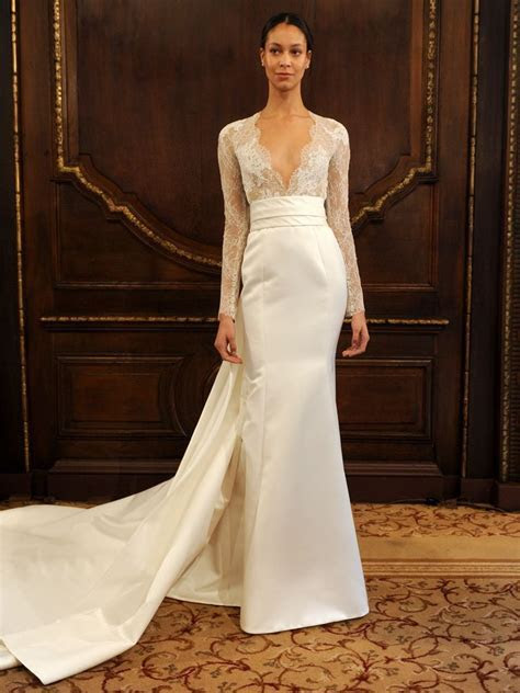 Monique Lhuillier Spring 2019: Polished Wedding Dresses