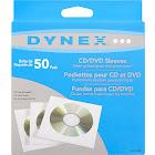 Dynex DX-S50P CD/DVD sleeve - White