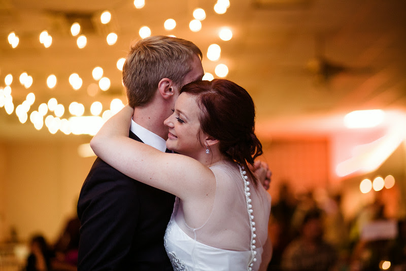 Wedding Reception Photos at the Verdi Club in Rockford IL by Mindy Joy Photography