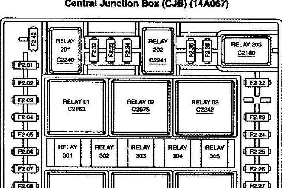 2004 Ford F150 Fuse Box Location