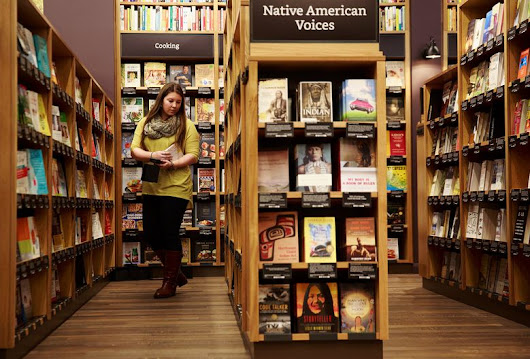 Amazon opens first brick-and-mortar bookstore — at U Village