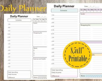 YouTube Planner Printable Video Planner by AlineDigitalFantasy
