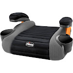 Chicco GoFit Backless Booster Seat, Black/Grey