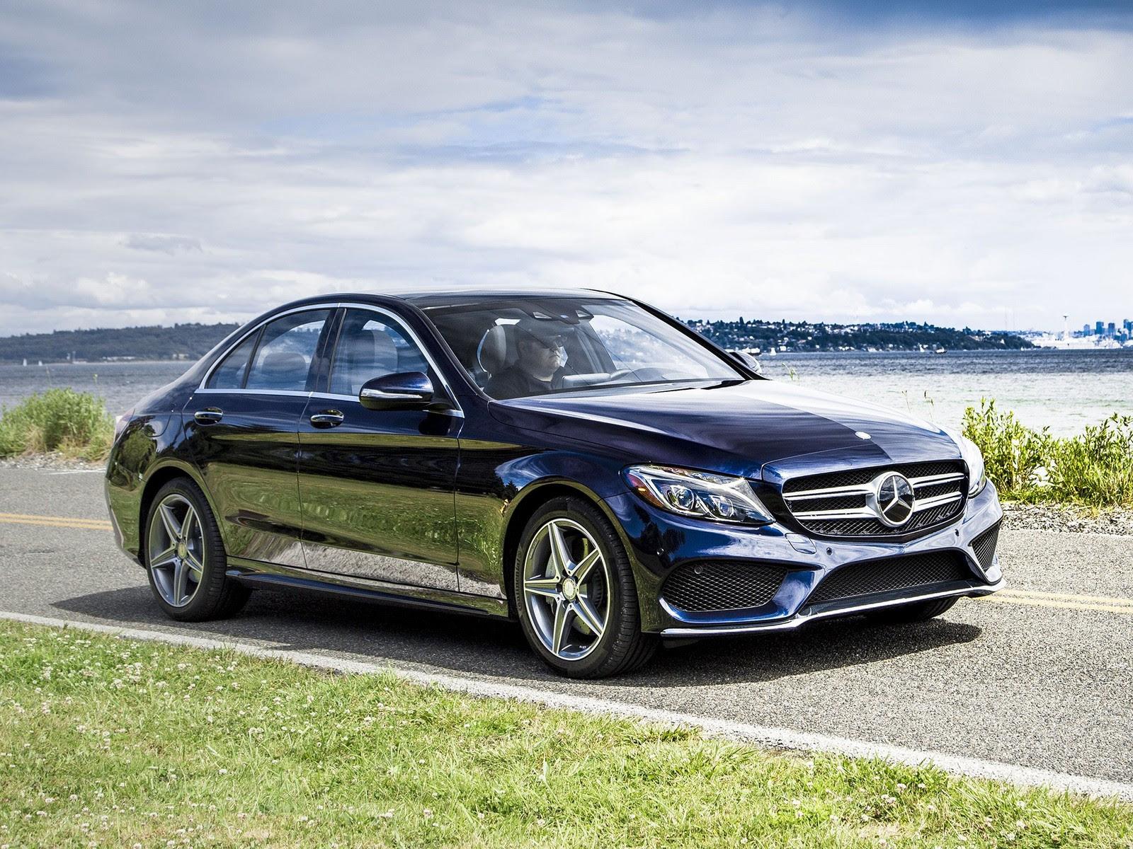 2015 Glacier Blue Metallic Mercedes-Benz C400 Pictures ...