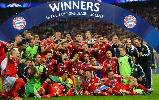 Bayern título Liga dos Campeões (Foto: Getty Images)