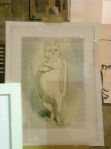 Gay Cat Paintings