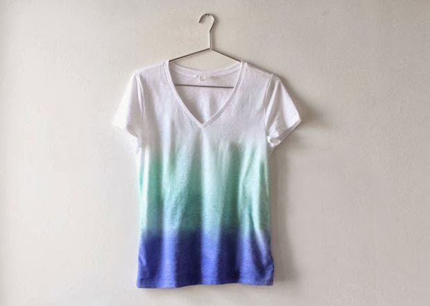 Camiseta Ombré