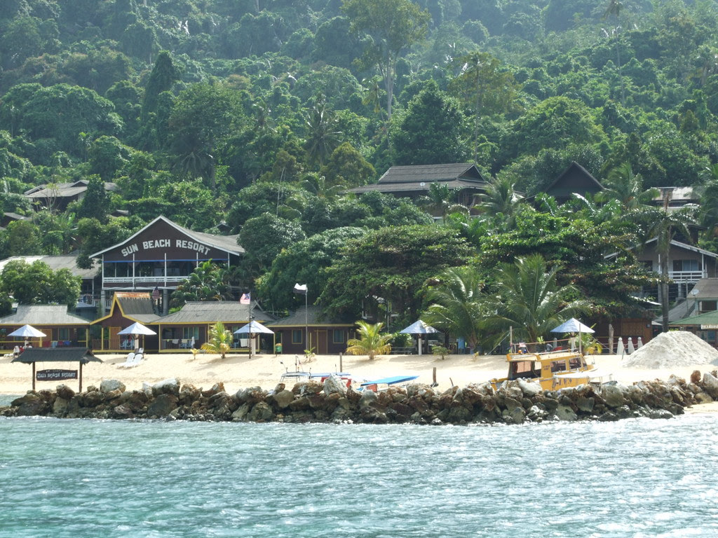 View of Sun Beach Resort