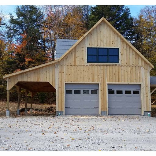 Prefab Two Car Garages - Custom Barns and Buildings - The ...