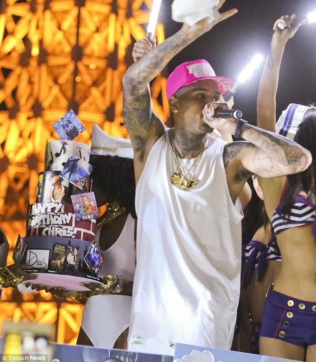 Wambura Babu Blog Chris Brown Celebrates 26th Birthday With Lavish