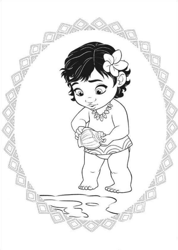 Kidsnfun.com  20 coloring pages of Moana