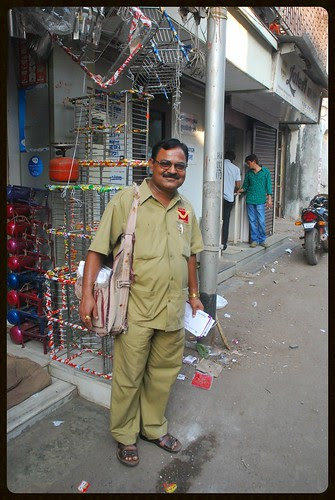 The Unsung Hero Of Our Life .. For All Time Mumbai Postman by firoze shakir photographerno1