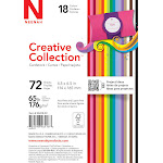 Neenah Creative Collection Specialty Cardstock Starter Kit - 72 sheets