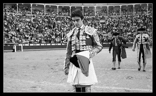 Miguel Ángel Perera. Salida
