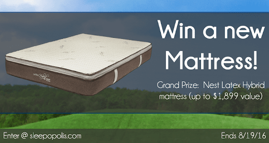 Nest Hybrid Latex Mattress Giveaway | Sleepopolis