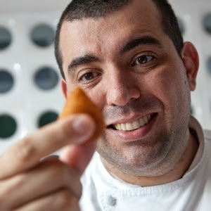 O chef Jefferson Rueda