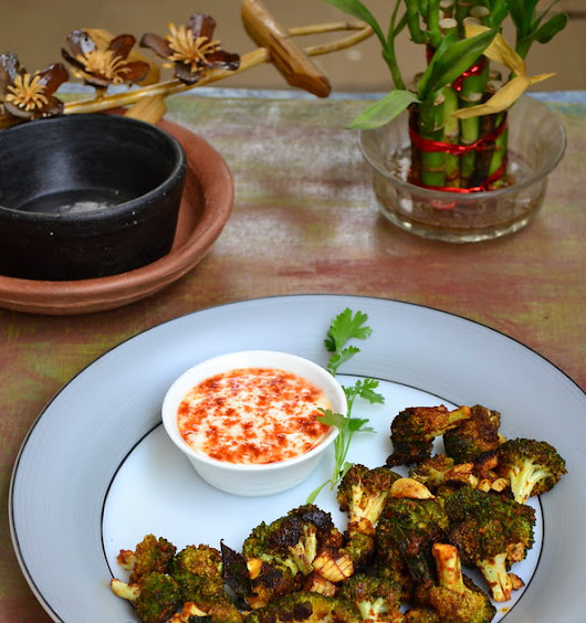 Pan Roasted Broccoli - Indian style