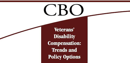 CBO Proposes Huge Cuts To Veterans Disability Program